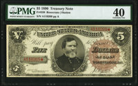 Fr. 359 $5 1890 Treasury Note PMG Extremely Fine 40