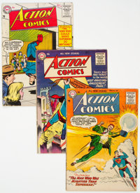 Action Comics Group of 7 (DC, 1955-56).... (Total: 7 )