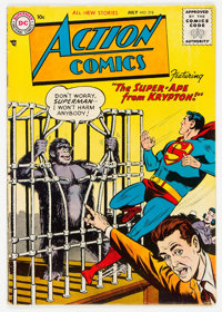 Action Comics #218 (DC, 1956) Condition: VG+