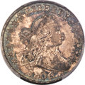 Early Half Dollars, 1806 50C 6 Over Inverted 6, O-111, T-11, R.3, AU53 PCGS....