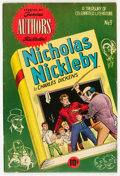 """Golden Age (1938-1955):Classics Illustrated, Stories by Famous Authors Illustrated #9 Nicholas Nickleby - Davis Crippen (""""D"""" Copy) Pedigree (Seaboard Pub., 1951) Condition..."""