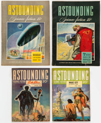 Assorted Science Fiction Pulps Box Lot (Various, 1941-65) Condition: Average VG