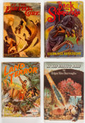 Books:Hardcover, Edgar Rice Burroughs Pellucidar Hardcover Editions Group of 7 (Various, 1922-76).... (Total: 7 Items)