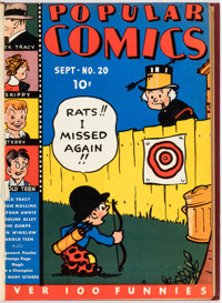 Popular Comics Bound Volumes Group of 2 (Dell, 1937-42).... (Total: 2 Items)