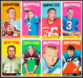 Football Cards:Sets, 1965 Topps Football Collection (147). ...