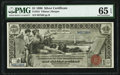 Large Size:Silver Certificates, Fr. 224 $1 1896 Silver Certificate PMG Gem Uncirculated 65 EPQ.. ...