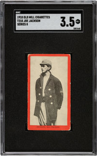 1910 T210 Old Mill - Series 8 Joe Jackson SGC VG+ 3.5 - From a New to the Hobby Find!