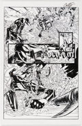 Original Comic Art:Panel Pages, Damion Scott and Cory Hamscher All-New Ghost Rider #10 Story Page 17 Original Art (Marvel, 2015)....