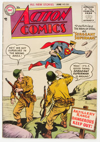 Action Comics #205 (DC, 1955) Condition: FN