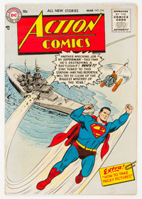 Action Comics #214 (DC, 1956) Condition: VG/FN