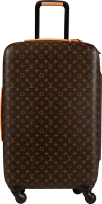 "Louis Vuitton Monogram Coated Canvas Zephyr 70 Suitcase Condition: 3 16"" Width x 29"" Height x 10"