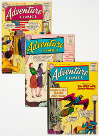 Adventure Comics Group of 6 (DC, 1955-58).... (Total: 6 Item)