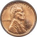 Lincoln Cents, 1924 1C MS67 Red PCGS....