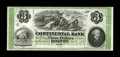 Obsoletes By State:Massachusetts, Boston, MA- Continental Bank $3 G6a. ...