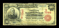 National Bank Notes:West Virginia, Pennsboro, WV - $10 1902 Red Seal Fr. 613 The Citizens NB Ch. #(S)7246. ...