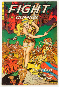Fight Comics #75 (Fiction House, 1951) Condition: FN/VF
