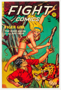 Fight Comics #77 (Fiction House, 1951) Condition: FN