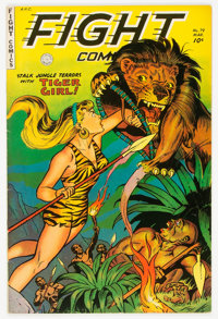 Fight Comics #79 (Fiction House, 1952) Condition: FN+