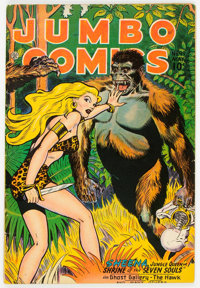 Jumbo Comics #99 (Fiction House, 1947) Condition: FN+