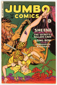 Jumbo Comics #144 (Fiction House, 1951) Condition: VF-