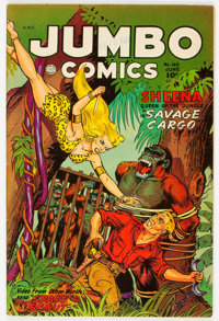 Jumbo Comics #160 (Fiction House, 1952) Condition: FN/VF
