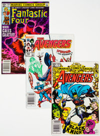 Avengers/Fantastic Four Group of 77 (Marvel, 1970s-80s) Condition: FN+.... (Total: 77 Comic Books)