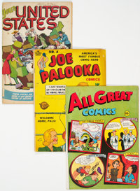 Golden and Silver Age Comics Short Box Group (Various Publishers, 1940s-60s) Condition: Average VG-