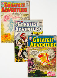 My Greatest Adventure Group of 29 (DC, 1956-63) Condition: Average GD/VG.... (Total: 29 )