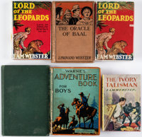 F. A. M. Webster Hardcover Editions Group of 6 (Various, 1900-36).... (Total: 6 Items)