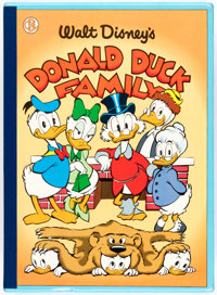 The Carl Barks Library of Walt Disney's Donald Duck Volume VI - Donald Duck Family (Another Rainbow, 1990)