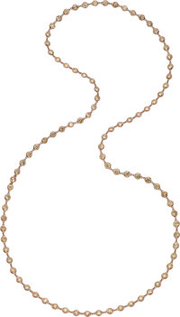 Colored Diamond, Rose Gold Necklace