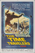 """Movie Posters:Science Fiction, The Time Travelers (American International, 1964). Folded, Very Fine-. One Sheet (27"""" X 41"""") Reynold Brown Artwork. Science ..."""