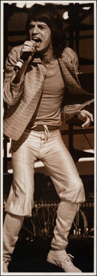 """Mick Jagger (AGI, 1983). Rolled, Very Fine-. Personality Poster (62.5"""" X 76""""). Rock and Roll"""