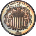 Shield Nickels, 1882 5C MS67+ NGC....