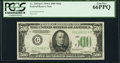 Fr. 2202-G $500 1934A Federal Reserve Note. PCGS Gem New 66PPQ
