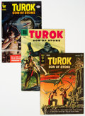 Silver Age (1956-1969):Adventure, Turok, Son of Stone Group of 31 (Dell/Gold Key/Whitman, 1957-82).... (Total: 31 Comic Books)