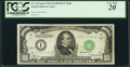 Fr. 2211-I $1,000 1934 Mule Federal Reserve Note. PCGS Very Fine 20