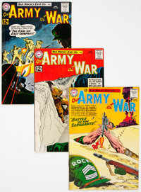 Our Army at War Group of 25 (DC, 1961-71) Condition: Average FN/VF.... (Total: 25)