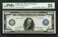 Large Size:Federal Reserve Notes, Fr. 1133-L $1,000 1918 Federal Reserve Note PMG Choice Very Fine 35.. ...