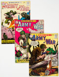 Silver Age (1956-1969):War, Our Army at War/Sgt. Rock Group of 29 (DC, 1960-86) Condition: Average VG+.... (Total: 29 )