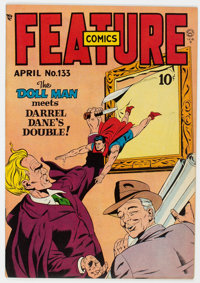 Feature Comics #133 (Quality, 1949) Condition: VF/NM