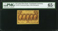 Fractional Currency:First Issue, Fr. 1279 25¢ First Issue PMG Gem Uncirculated 65 EPQ.. ...