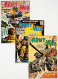 Silver Age (1956-1969):War, Our Army at War Group of 26 (DC, 1959-76) Condition: Average GD/VG.... (Total: 26 )