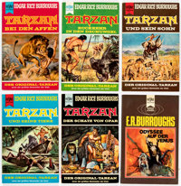 Edgar Rice Burroughs German and Dutch Editions Group of 23 (Various, 1965-74).... (Total: 23 Comic Books)