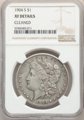 Morgan Dollars, 1904-S $1 -- Cleaned -- NGC Details. XF. Mintage 2,304,000....