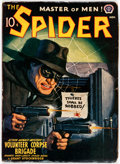 Pulps:Hero, The Spider - November 1941 (Popular) Condition: FN-....