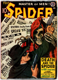 The Spider #1942-01 (Popular, 1942) Condition: VG+