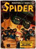 Pulps:Hero, The Spider - December 1941 (Popular) Condition: VG....