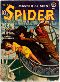 Pulps:Hero, The Spider - May 1941 (Popular) Condition: FN-....