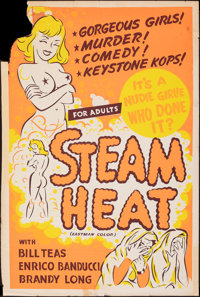 Steam Heat & Other Lot (William Mishkin Motion Pictures Inc., 1963). Folded, Very Good/Fine. Silk Screen One Sheet (...